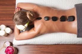 Masaje de relajación con calor